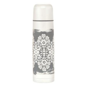 Thermo bottle Lace warm grey