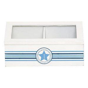 GreenGate Wood box No1 indigo
