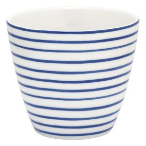 Latte cup Sally indigo