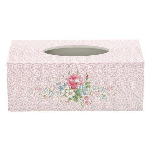 Tissue box Marie pale pink