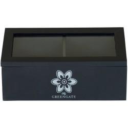 GreenGate Wood Box Anouk Black