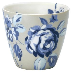 Latte cup Amanda dark blue
