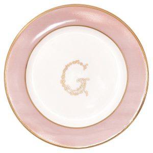 Small plate - Tallerken G pale pink