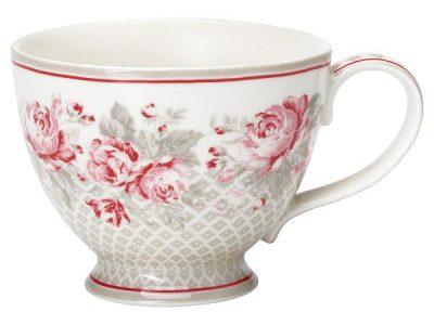 Teacup Shirley linen