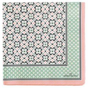 GreenGate Paper Napkin - Servietter - Lamia peach large