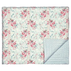 GreenGate Bed cover - Quilt - Betty mint 140x220cm