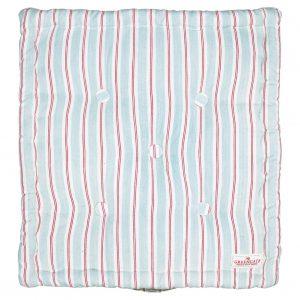 GreenGate Ruby Pale Blue Box Cushion - Hynde