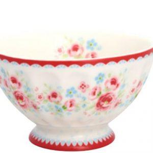 Greengate French Bowl Small - Lille skål - Tess White