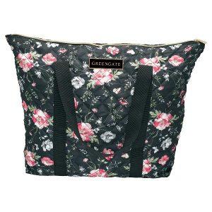 GreenGate Large Shopper Bag Meadow Black