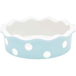 GreenGate Spot Blue Mini Pie Dish - Tærtefad