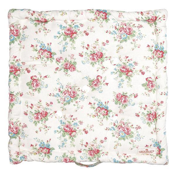 Box cushion Abelone white 50x50