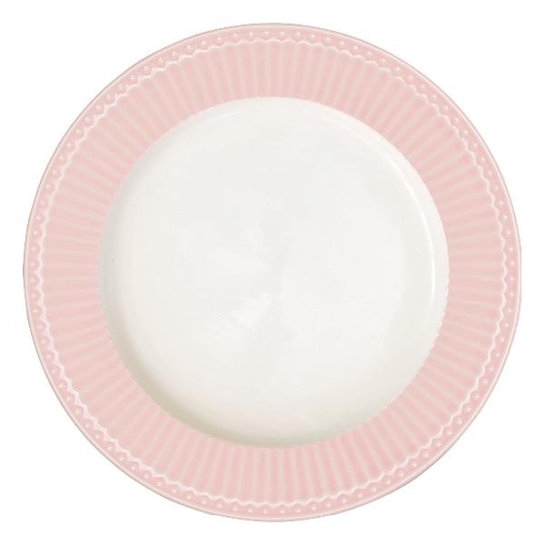 GreenGate Dinnerplate Alice pale pink