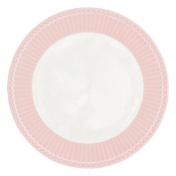 GreenGate Plate - Frokosttallerken - Alice pale pink