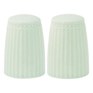 Salt and pepper set Alice pale