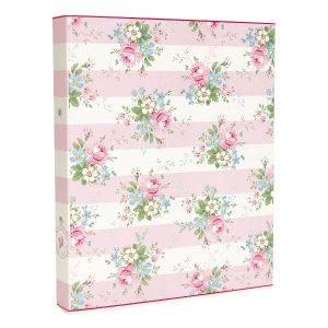 Binder Marie pale pink A4