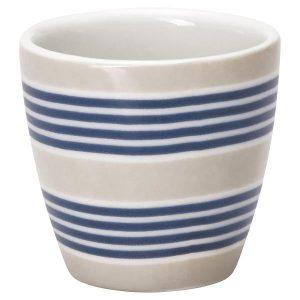 Egg cup - Æggebæger Nora blue