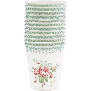 GreenGate Papbægre - Paper cups Abelone