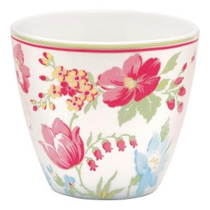 GreenGate - Latte cup Donna white
