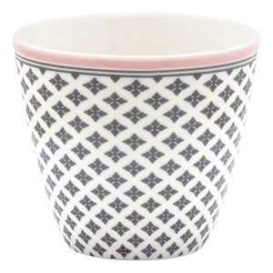 Latte cup Sasha dark grey