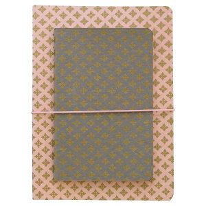 GreenGate Notebook Sasha w/elastic set of 2