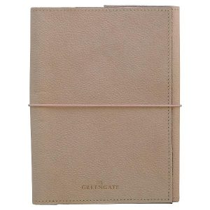 GreenGate Notebook pale pink w/elastic A5