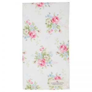 GreenGate Marie White Tea Towel - Viskestykke - Limited Edition