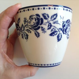 2. Sortering - GreenGate Latte Fleur Blue