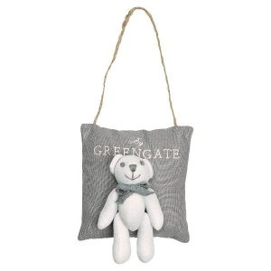GreenGate Duftpose - Scented bag grey w/teddy