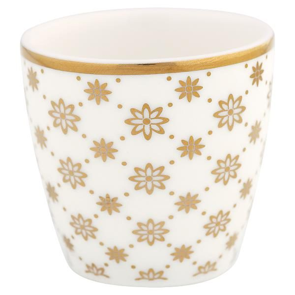 GreenGate Egg cup small Laurie gold NBC