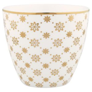 GreenGate Latte cup Laurie gold NBC