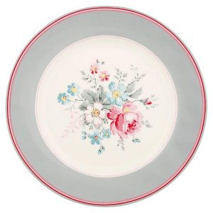 GreenGate Plate Marie grey