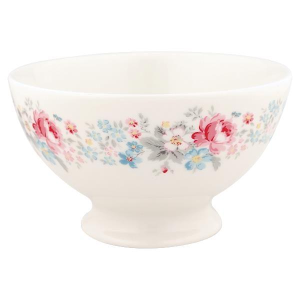 GreenGate Soup bowl Marie pale grey