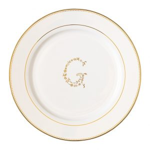 GreenGate Lunch Plate - Frokosttallerken - G gold