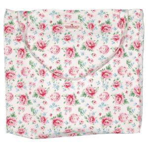 Greengate Shopper Bag - Stor Taske - Meryl White
