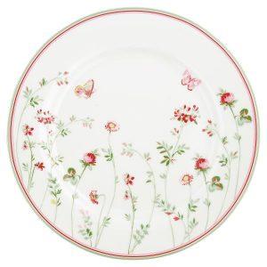 GreenGate Dinner Plate - Middagstallerken - Camille White