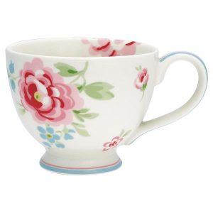 GreenGate Tea Cup - Tekop - Meryl White