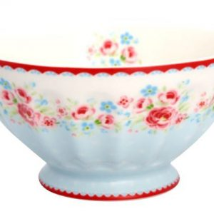 GreenGate French Bowl XLarge - Skål - Tess White
