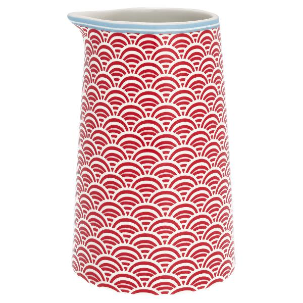 GreenGate Jug - Kande - Nancy red 0,4L
