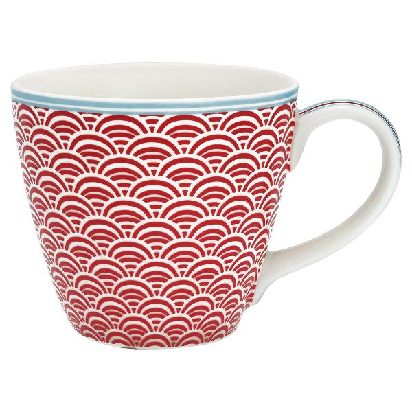 GreenGate Mug - Krus - Nancy red
