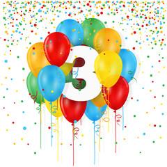 3-års Fødselsdag hos www.Sommerlivet.dk