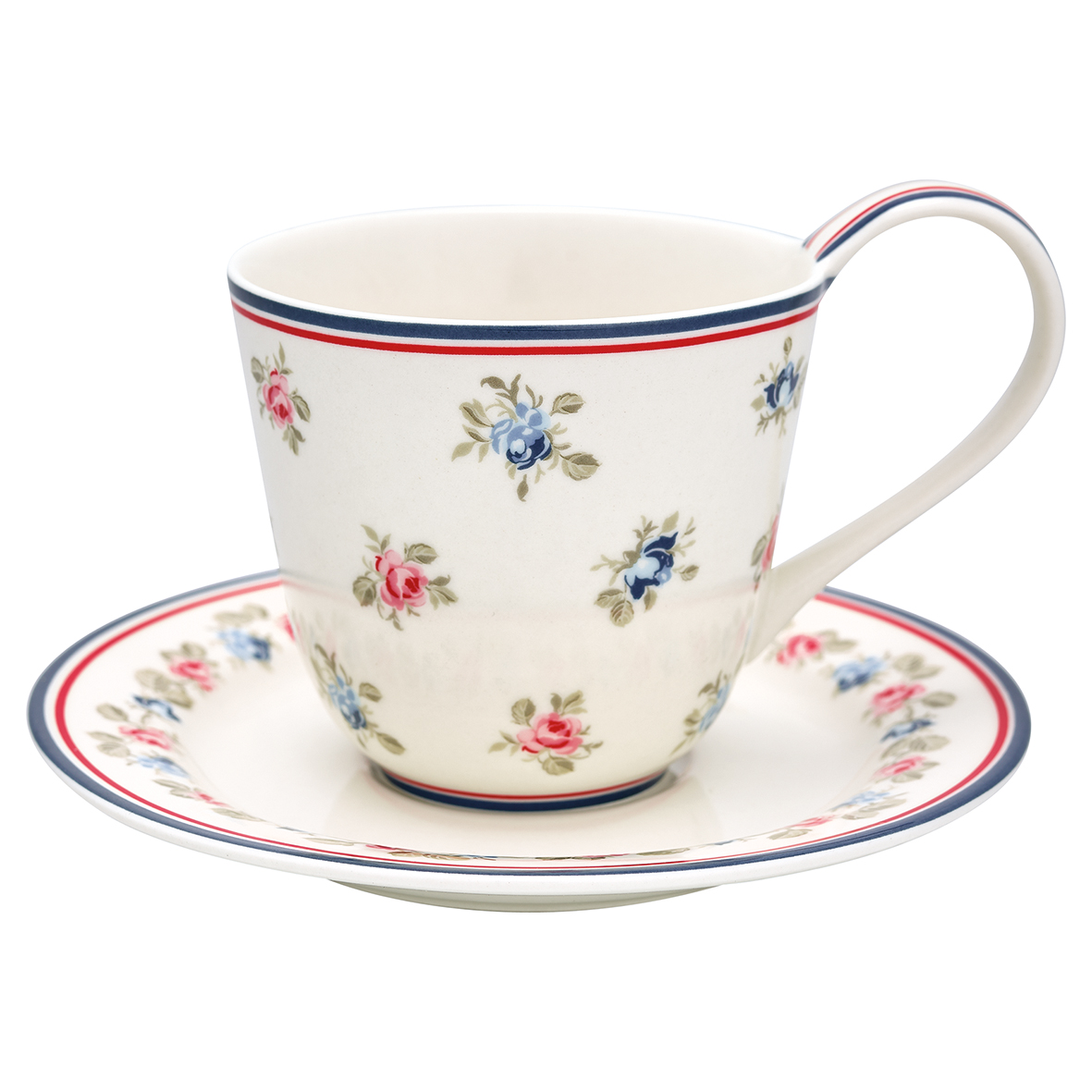 GreenGate Cup & Saucer - Kop m/underkop - Hailey White