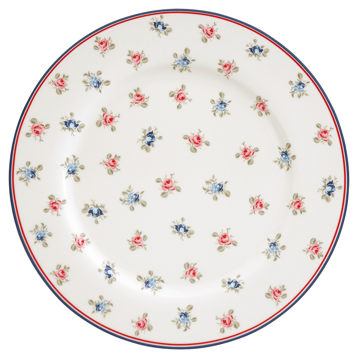 GreenGate Dinner Plate - Middagstallerken - Hailey White