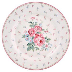 GreenGate Lunch Plate - Frokosttallerken - Marley White