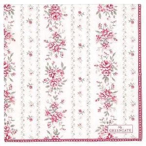 GreenGate Paper Napkins - Servietter - Flora Vintage