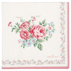 GreenGate Paper Napkins - Servietter - Marley pale pink