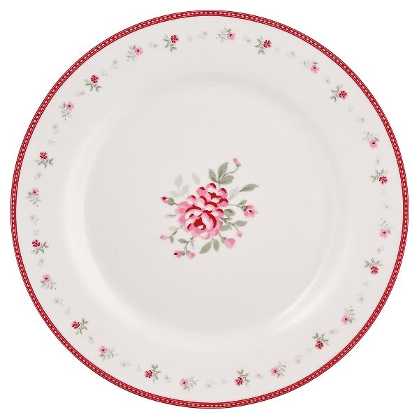 GreenGate Plate - Frokosttallerken - Flora Vintage