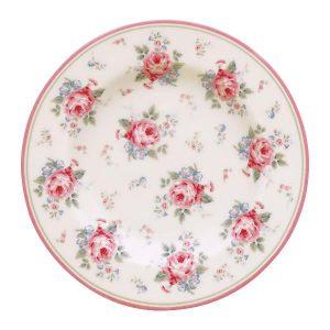 GreenGate Small Plate - Tallerken - Marley White