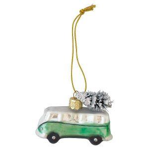 GreenGate Mini van glass - Folkevogn - Marley pale green