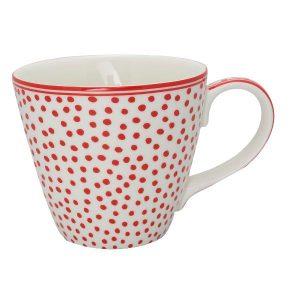GreenGate Mug Dot white
