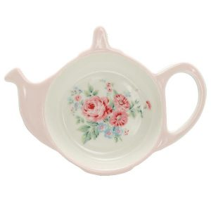 Greengate Teabag holder - Tebrevsholder - Marley pale pink